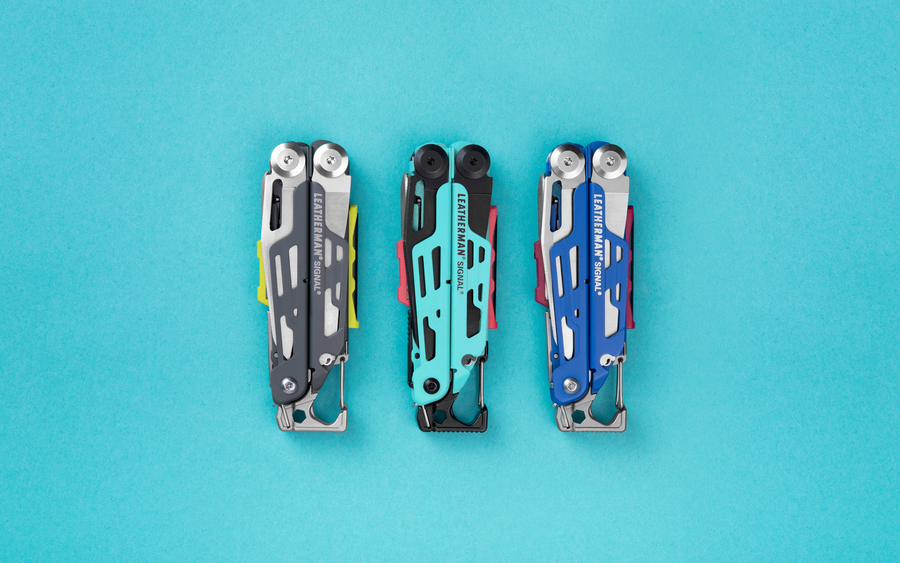Leatherman Signal in 3 New Colors