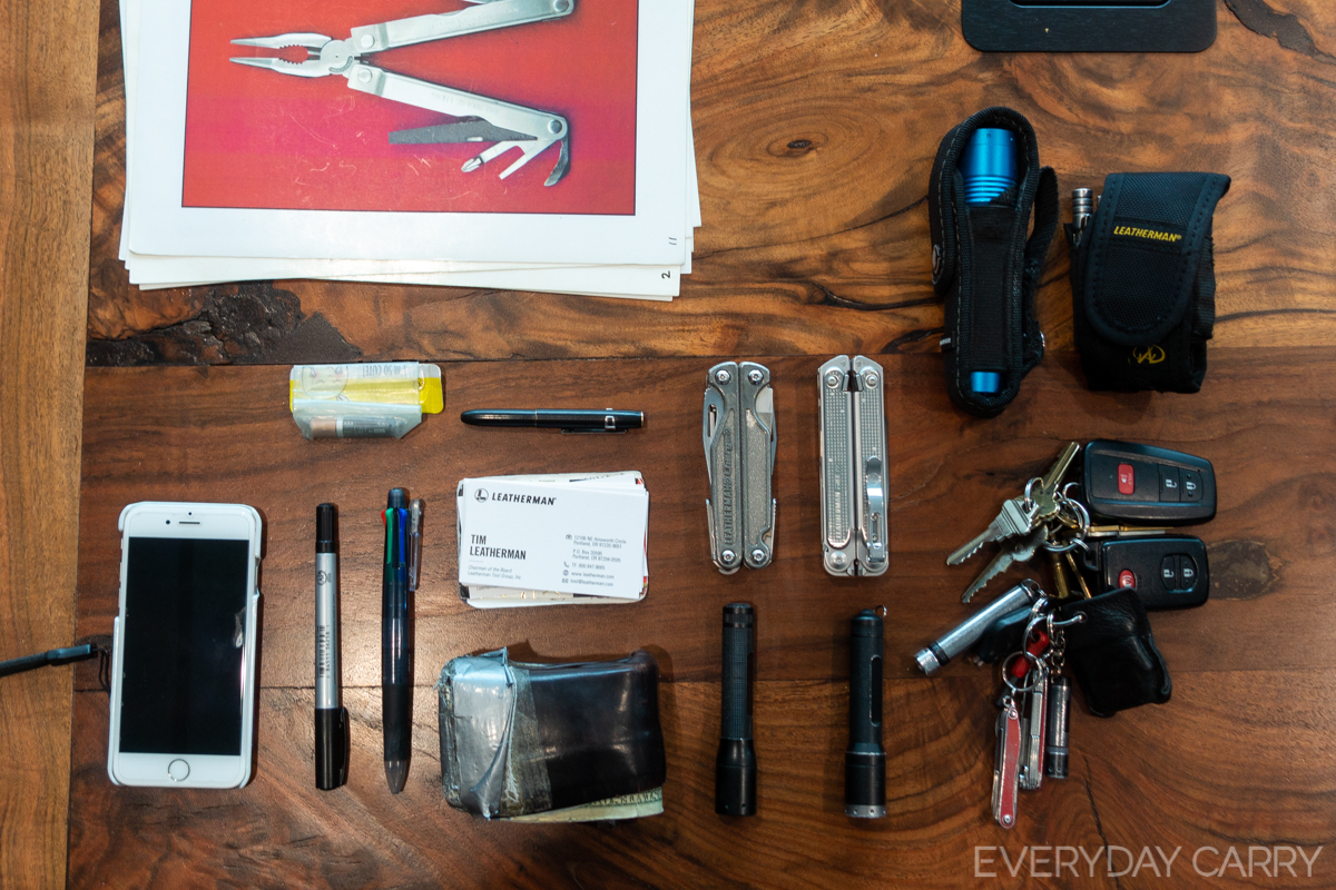 How Tim Leatherman and Our Readers EDC the FREE P Series