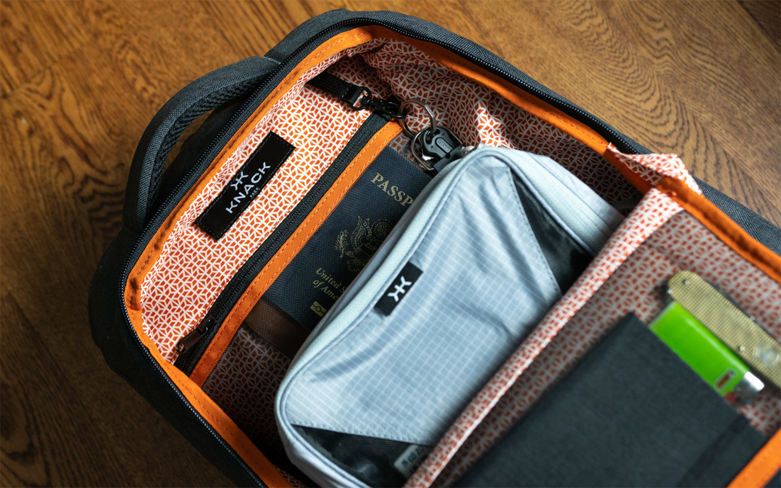 Knack Pack: Expandable Laptop Backpack