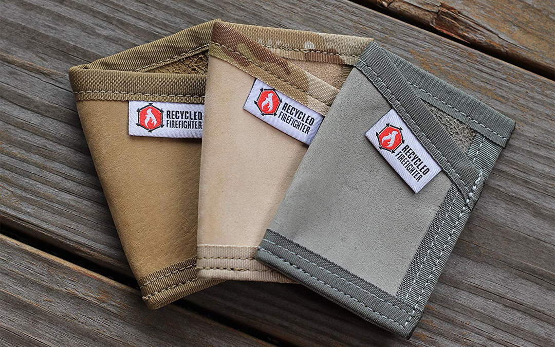Trending: Recycled Firefighter Leather Sergeant Wallet