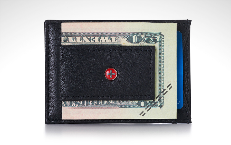 Trending: Alpine Swiss Money Clip Wallet
