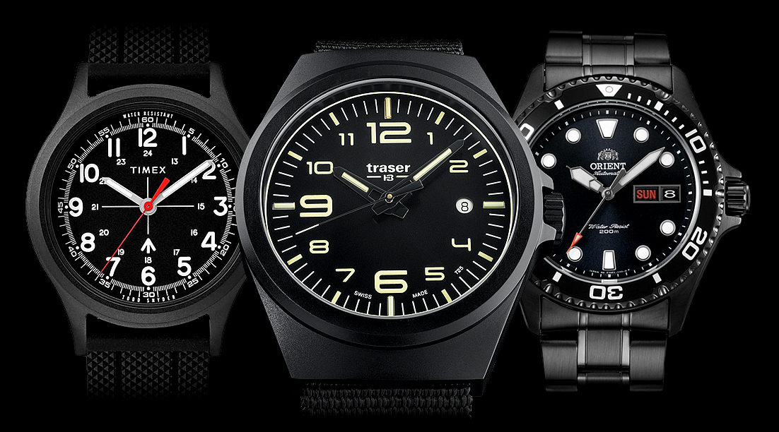 The Best Black Watches in 2019