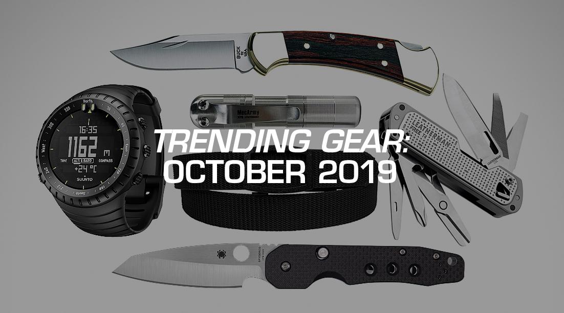 Trending Gear: October 2019