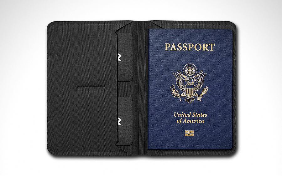 Wayfinder BORDERLESS Passport/Notebook Holder