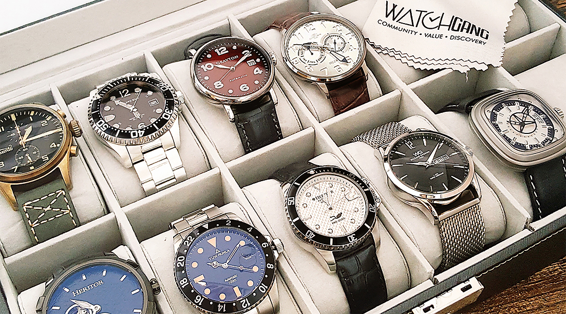 New Watches Every Month with Watch Gang