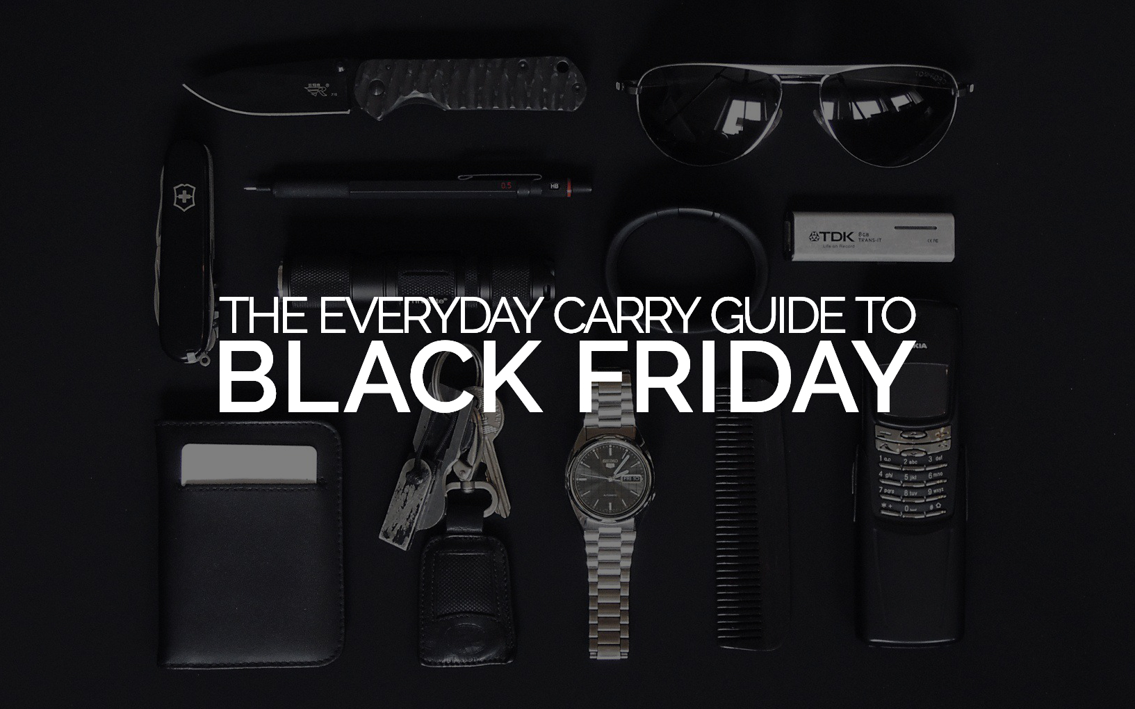 The Best EDC Gear Black Friday Deals 2019