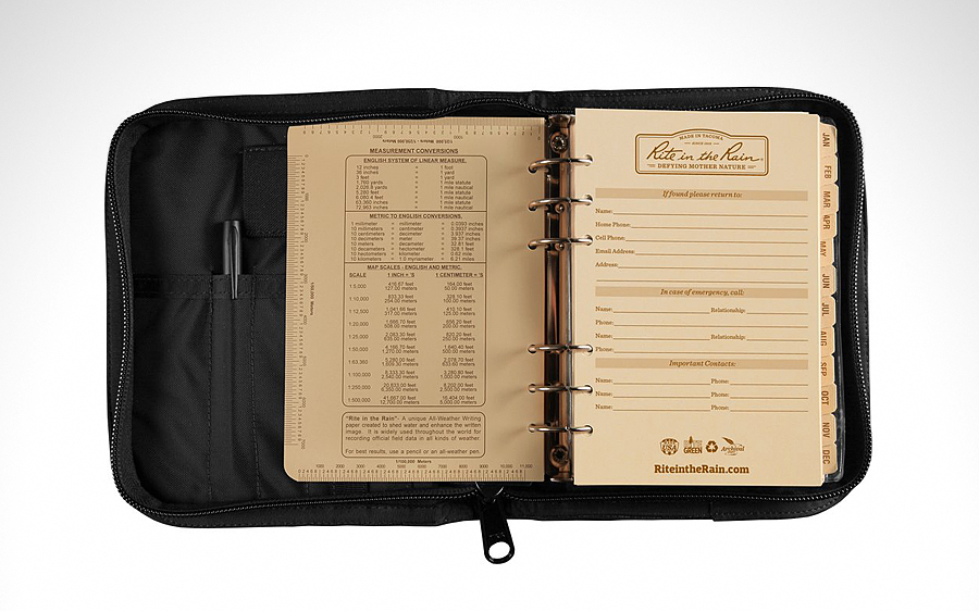 Rite in the Rain All-Weather Complete Field Planner Kit