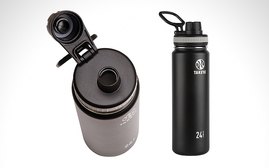 Takeya 50041 Vacuum-Insulated Water Bottle