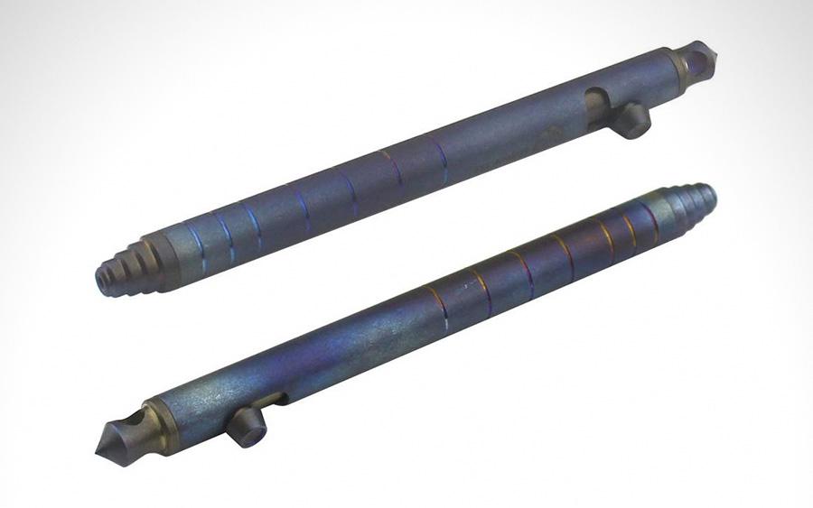 Titaner Blue Bolt Action Pen
