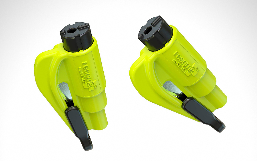 resqme The Original Keychain Car Escape Tool
