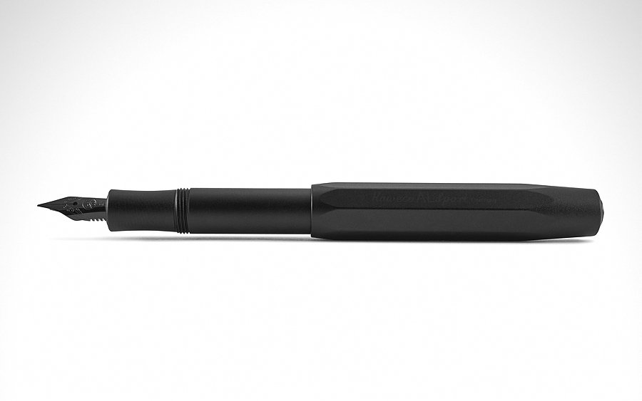 6. Kaweco AL Sport Black Night Edition