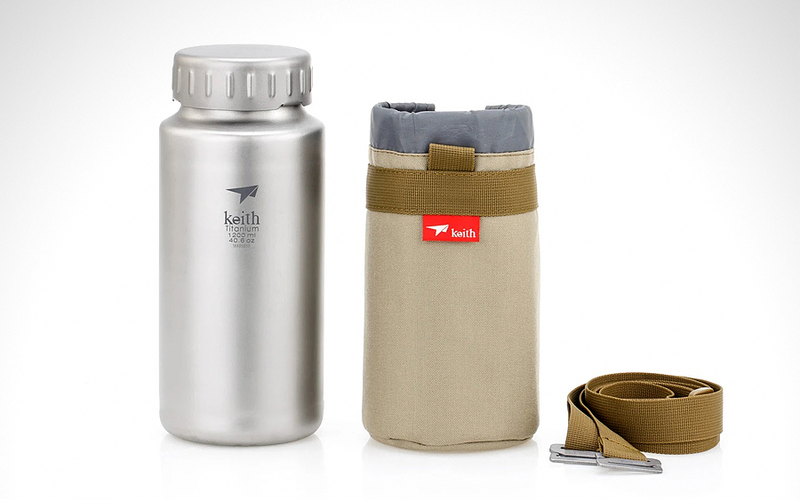 Keith Titanium Sports Bottle