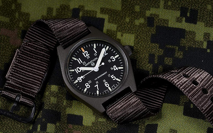 Marathon Field Army Watch