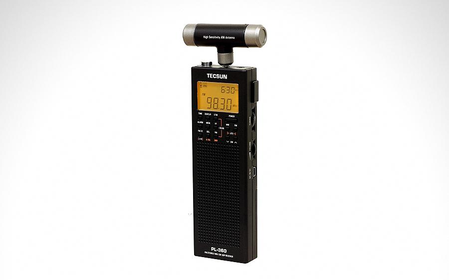 Civilian Radio (AM/FM/SW): Tecsun PL-360