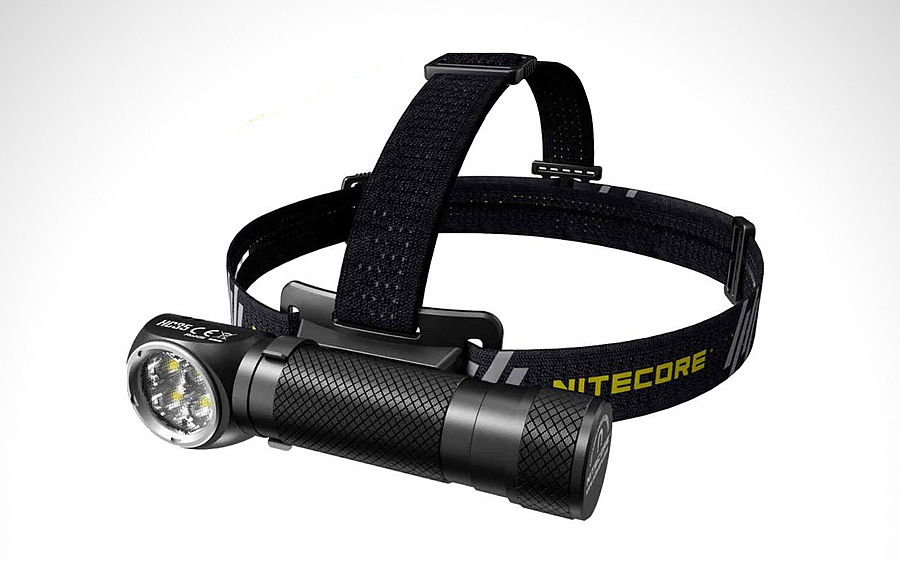 Flashlight/Headlamp: Nitecore HC35