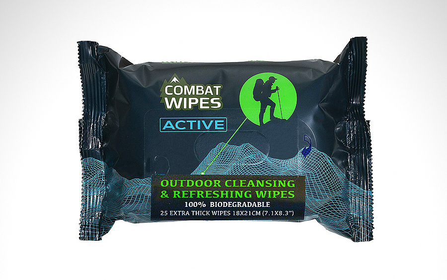 Sanitation: Combat Wipes