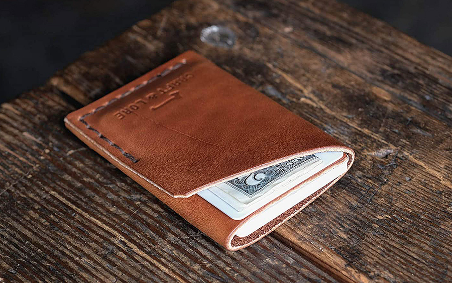 Craft & Lore Twobit Minimalist Wallet
