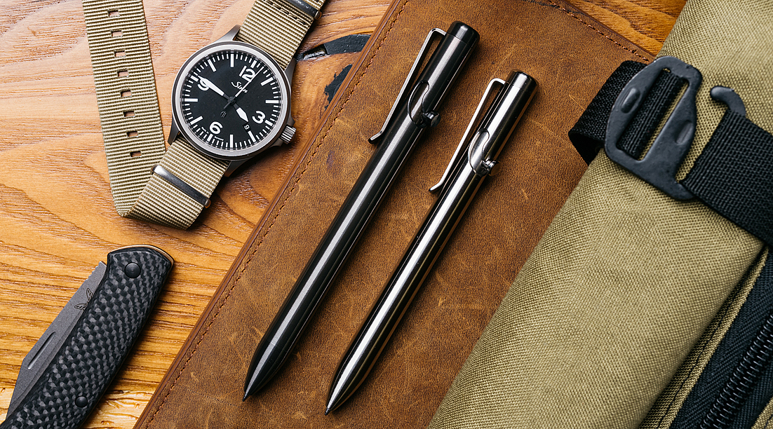 The Best Bolt-Action Pens for EDC in 2020