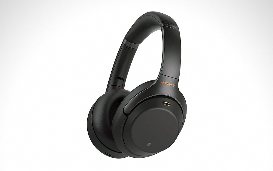 Headset: Sony WH1000XM3 Noise-Canceling Headphones