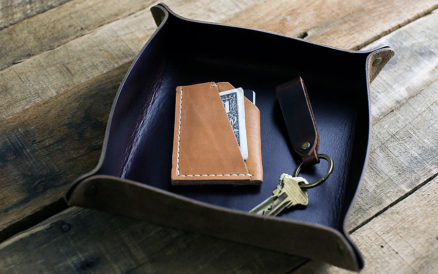 Valet: Choice Cuts Horween Valet Tray