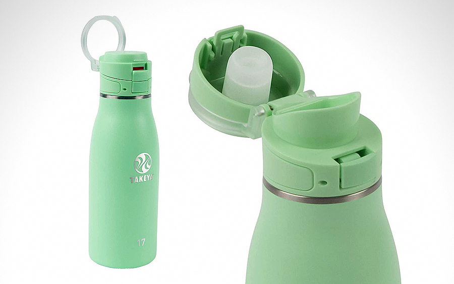 Water Bottle: Takeya 17oz Traveler Insulated Mug