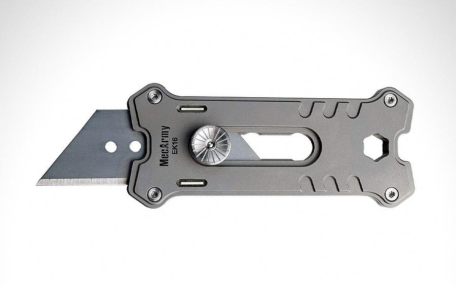 MecArmy EK16 Titanium Utility Knife
