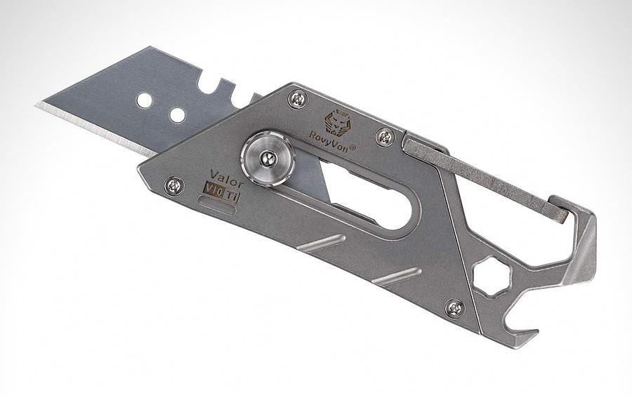 RovyVon Valor V10 Titanium Utility Knife