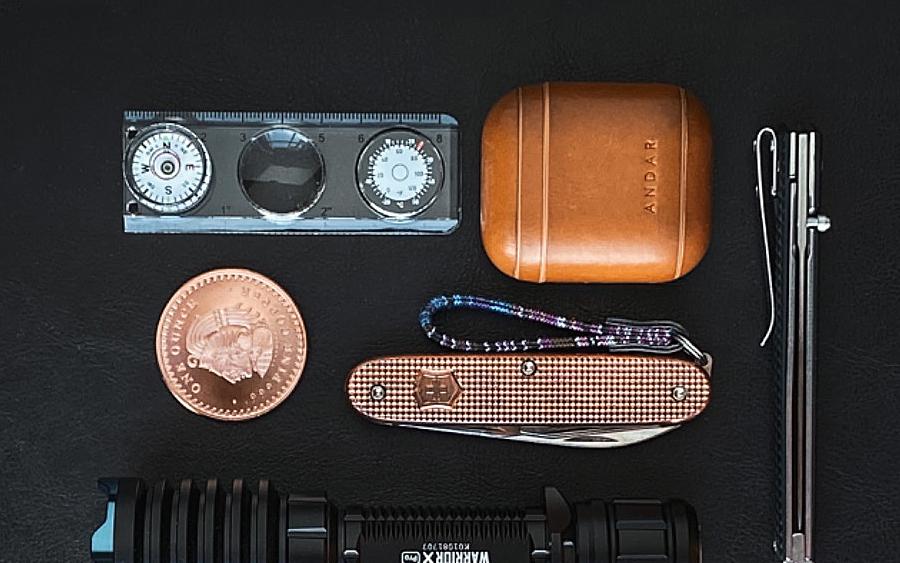 9. Victorinox Compass Tool