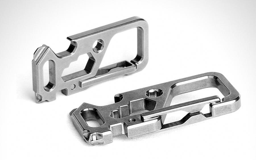 TISUR Titanium Carabiner Clip