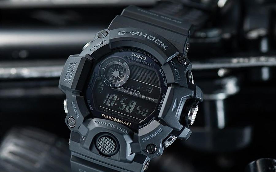 Casio G-SHOCK Master of G Rangeman (GW9400-1B)