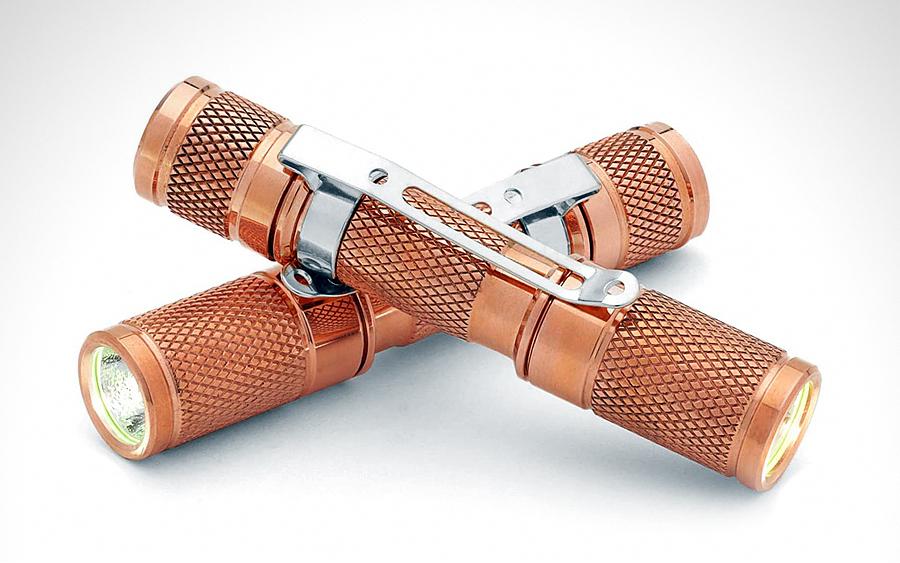 DROP AAA Copper Flashlight