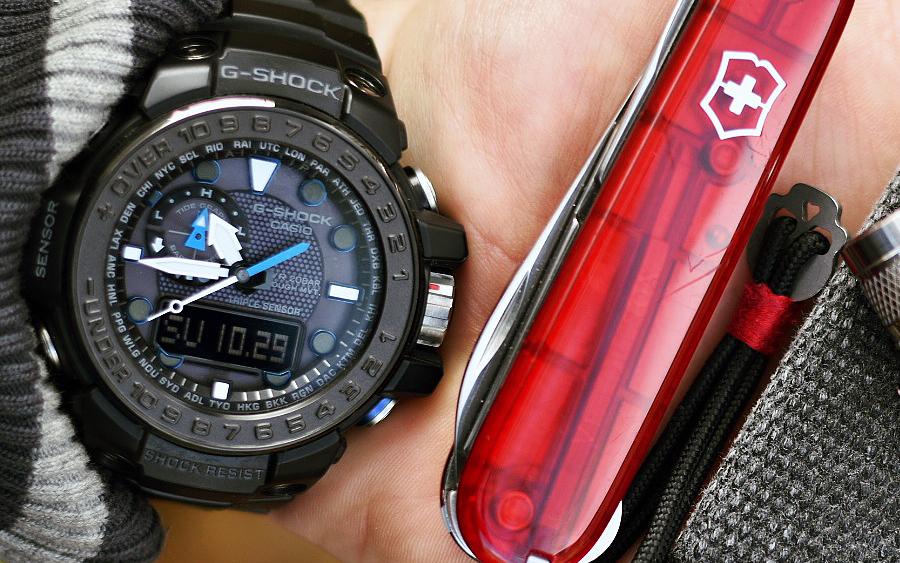 9. Casio G-Shock GWN-1000B-1AJF Gulfmaster