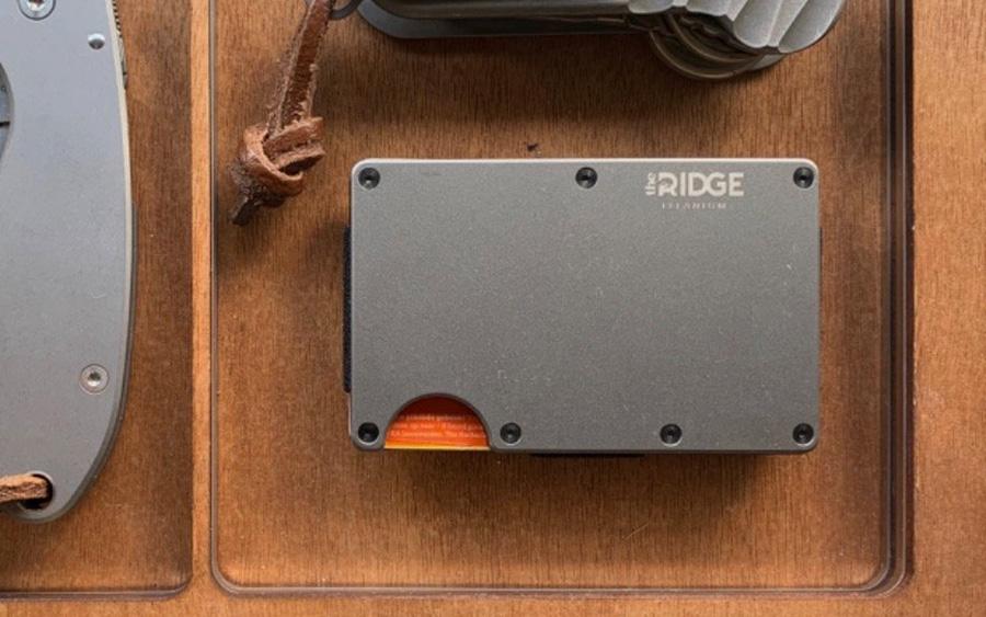 Trending: Ridge Wallet Titanium