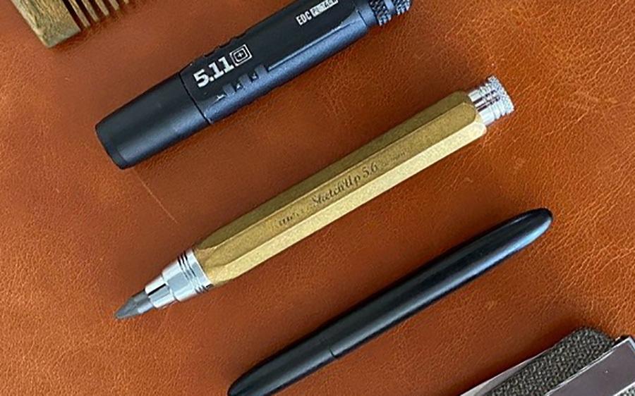 3. Kaweco Sketch Up Brass