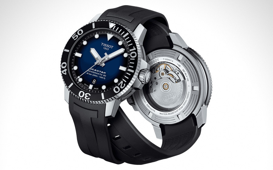 Tissot Seastar 1000 Powermatic 80 Men's Dive Watch
