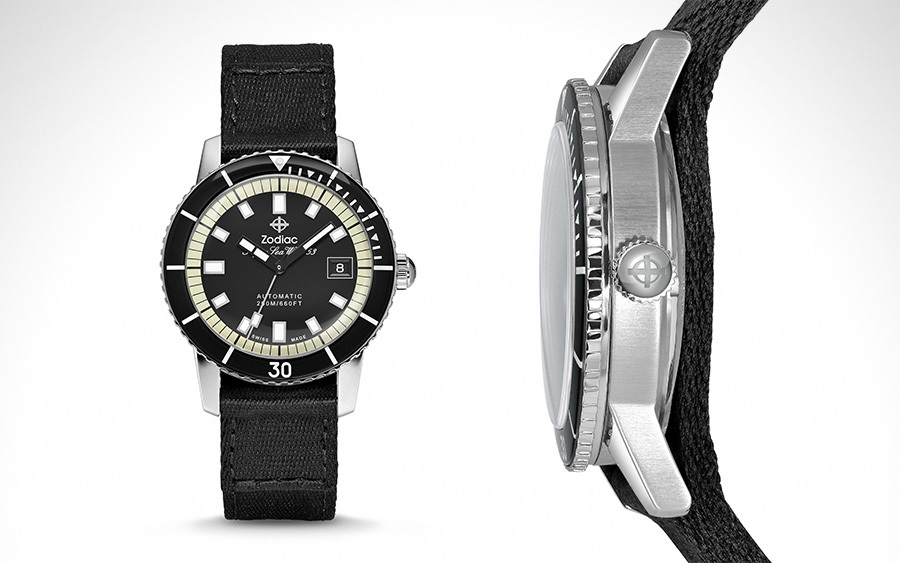 Zodiac Super Sea Wolf 53 Dive Watch