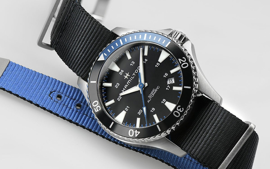 Hamilton Khaki Navy Scuba Dive Watch
