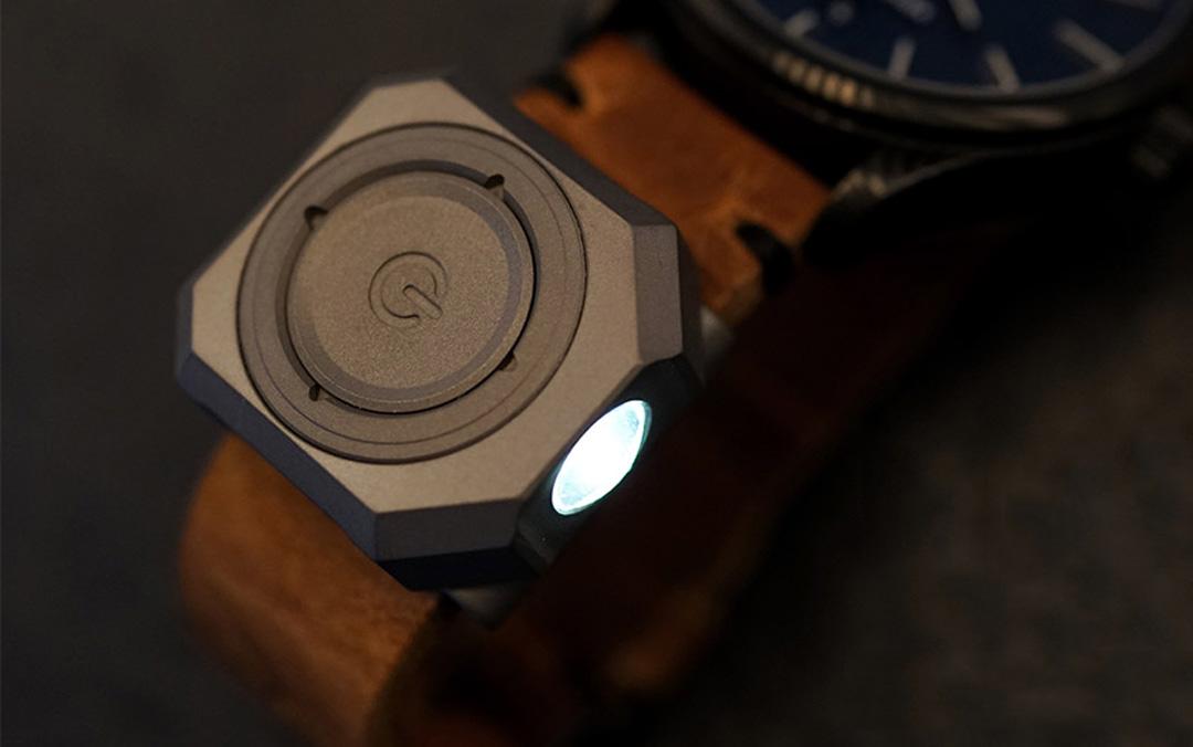 MecArmy CPLU Titanium Watchband Light
