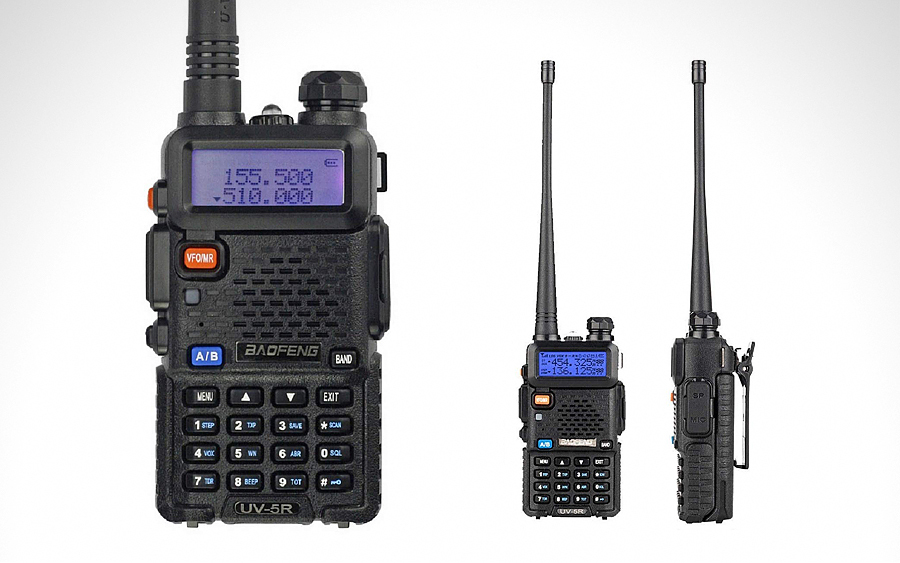 1. BaoFeng UV-5R Two-Way Radio