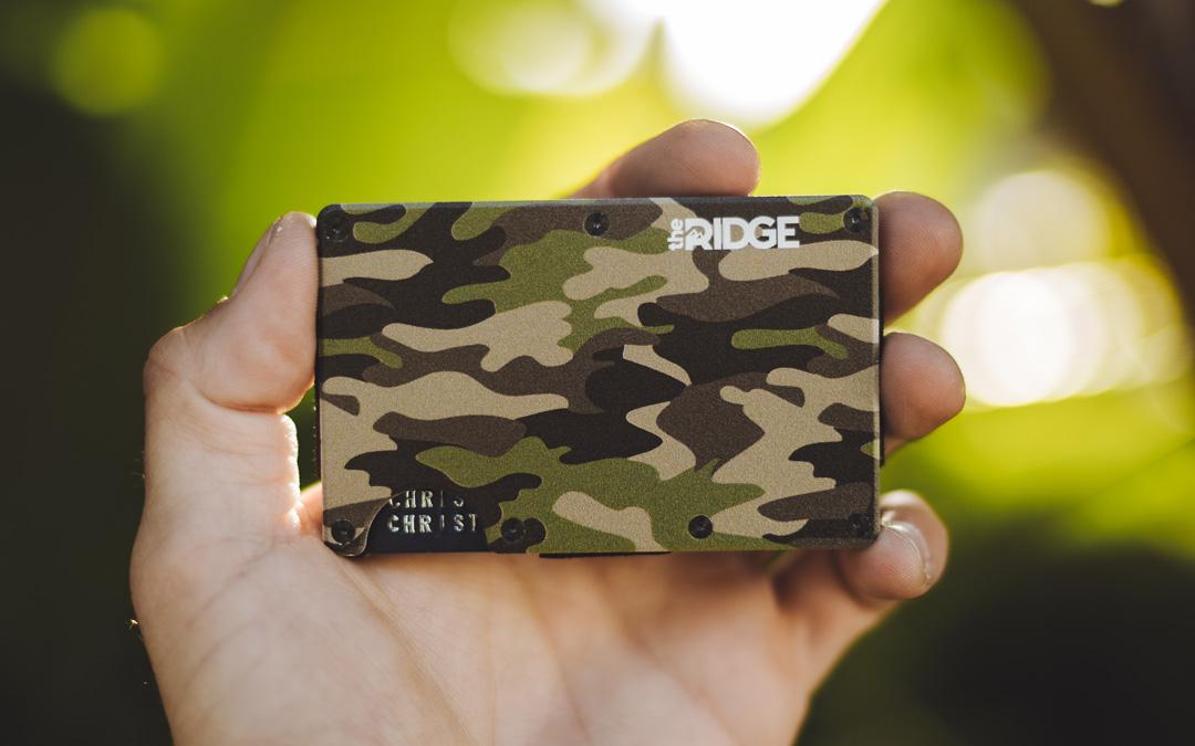 Woodland Camo Ridge Wallet