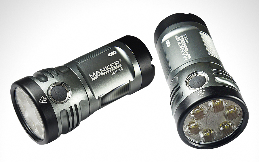 Manker MK36 Flashlight