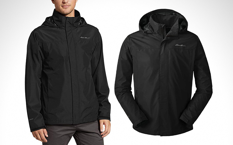 Eddie Bauer Rainfoil Packable Rain Jacket