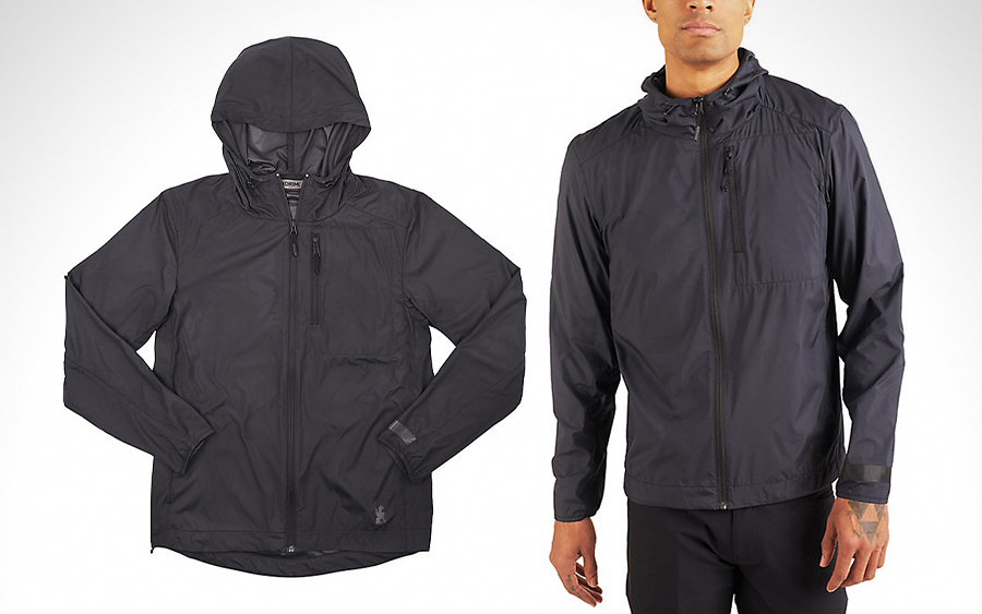 Chrome Industries Elston Packable Rain Jacket