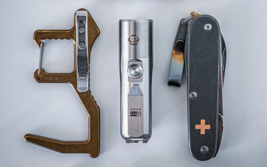 10. Leatherman Clean Contact Carabiner