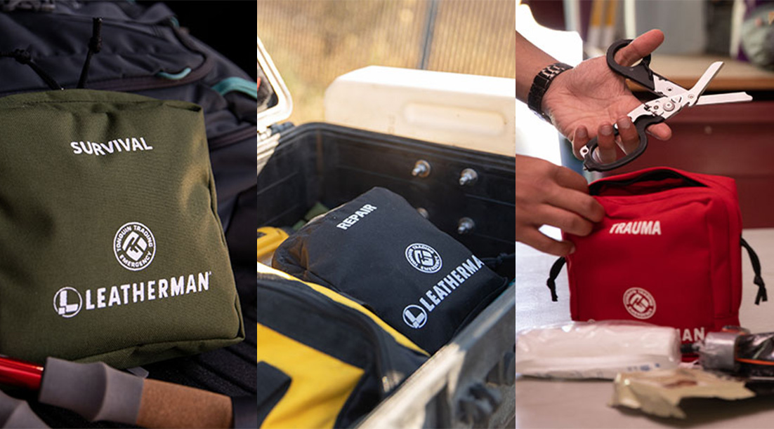 Leatherman x Tonquin Preparedness Kits