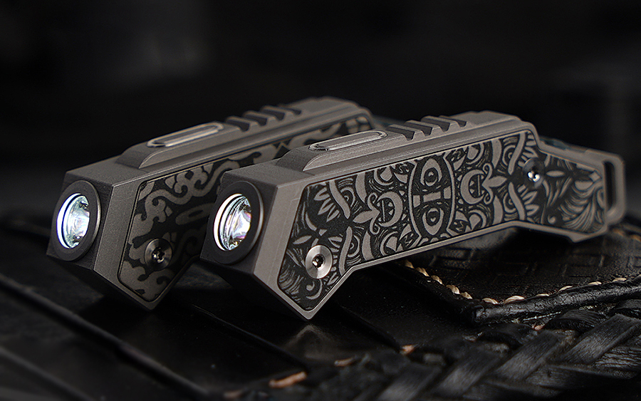 MecArmy FL02 Titanium Flashlight