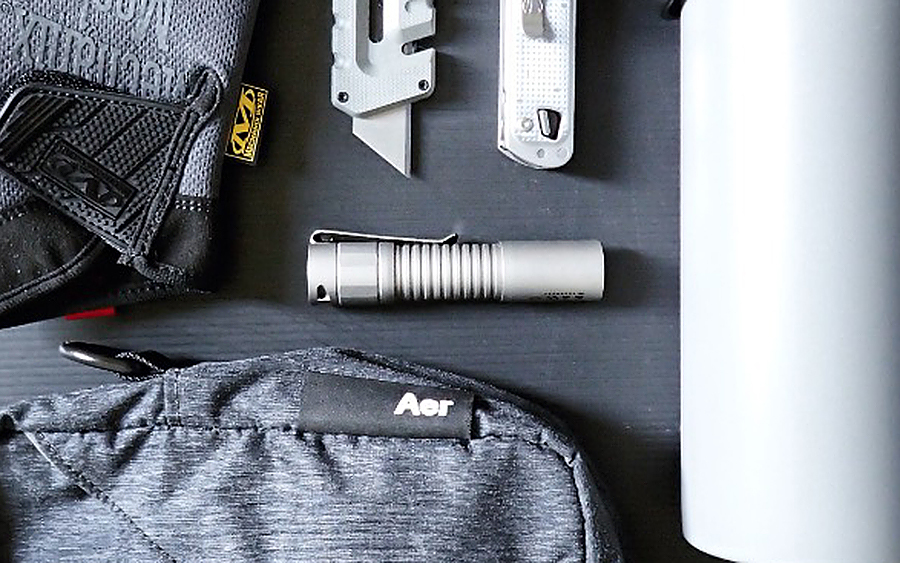 Manker E05 Titanium Flashlight