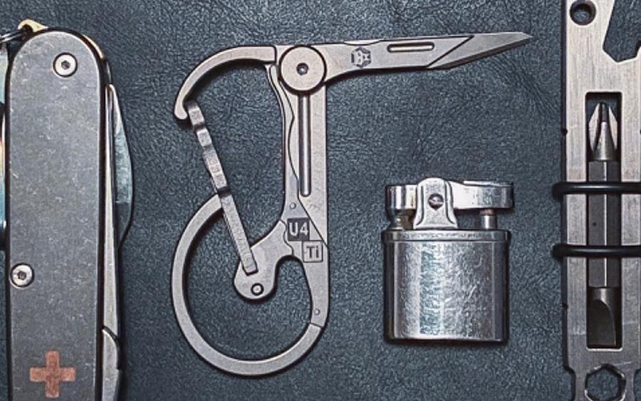 Trending: RovyVon U4 Keychain Carabiner Knife