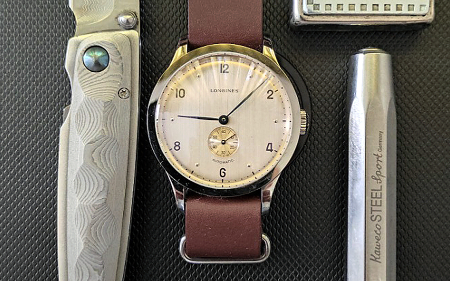 Trending: Longines Heritage 1945 Automatic Watch