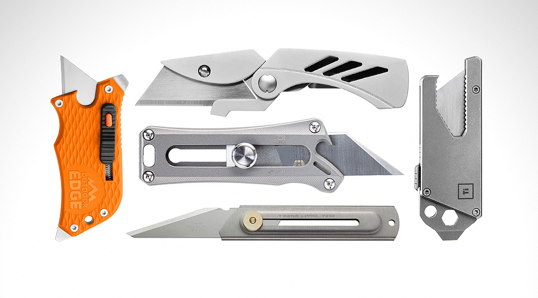 The 13 Best Utility Knives and Box Cutters for EDC in 2021